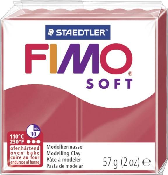 Modelliermasse FIMO soft 56 g, kirschrot®