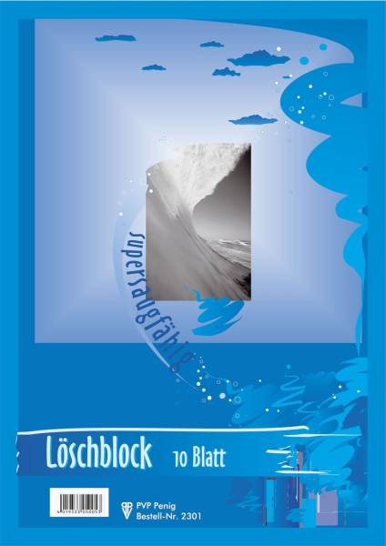 Löschblattblock A5 farbig