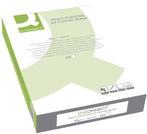 Q-CONNECT Kopierpapier A4 80g weiß KF01087 ECF 500Bl
