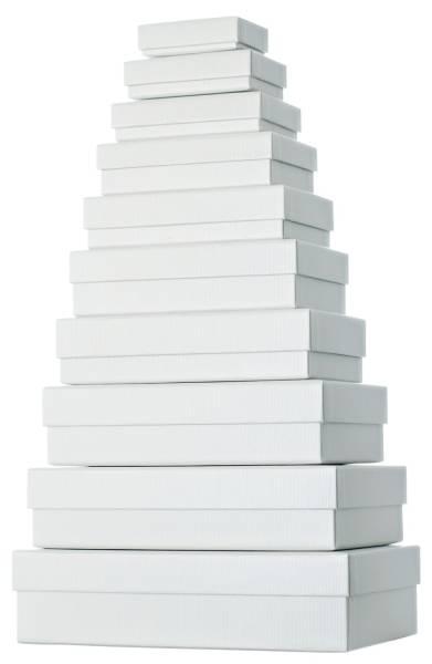 Geschenkkarton 10 tlg , flach, beige
