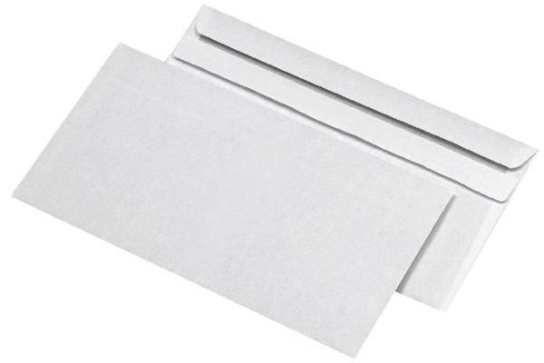 Kompaktumschläge ohne Fenster (229x125 mm), selbstklebend, 75 g qm, 25 Stück