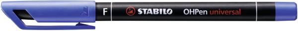 STABILO Folienschreiber OHPen F blau 842/41 permanent