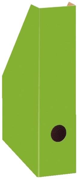 Stehsammler Color schmal, 70 x 225 x 300 mm, grün