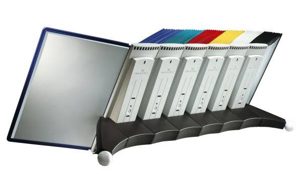 Sichttafelsystem SHERPA Erweiterungsmodul für 10 Tafeln A4, anthrazit grau®