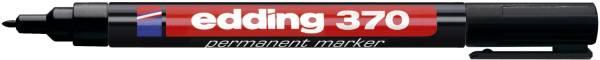EDDING Permanentmarker 370 schwarz 4-370001
