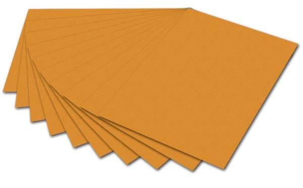 Tonpapier 50 x 70 cm, ocker