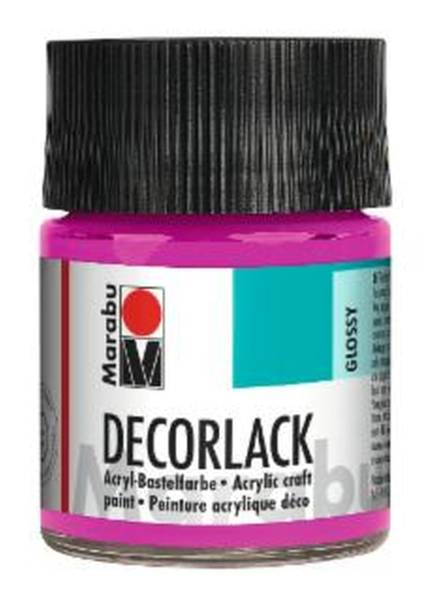 Decorlack Acryl, Magenta 014, 50 ml