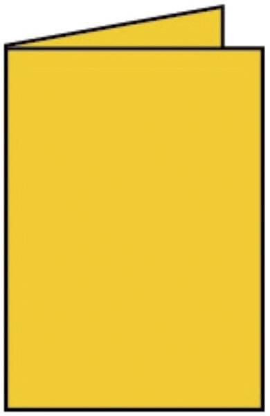 RÖSSLER Briefkarte B6 HD 5ST goldgelb 220719543
