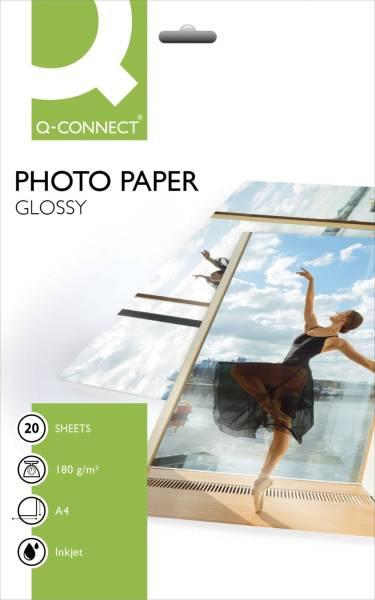 Inkjet Photopapiere A4, hochglänzend, 180 g qm, 20 Blatt