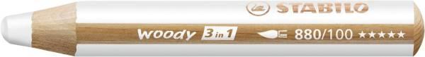 Multitalent Stift woody 3 in 1, weiß