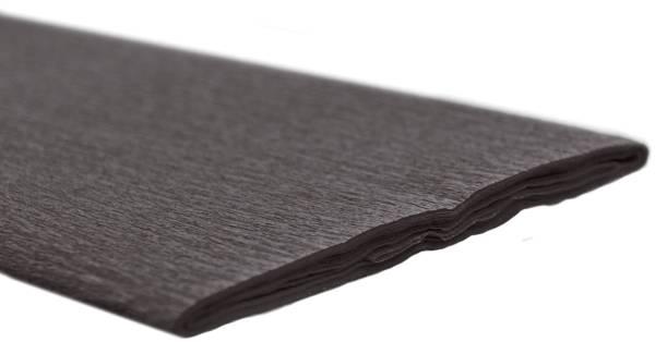 Krepppapier 50 x 250 cm schwarz