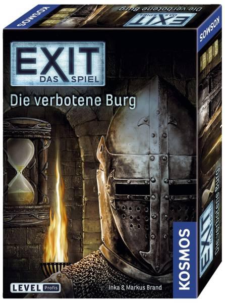 KOSMOS Mitbringspiel Exit Die verbotene Burg 69287