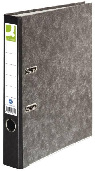 Q-CONNECT Ordner Pappe A4 50mm schwarz KF20050/11411659