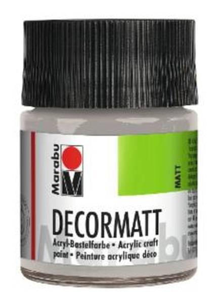 Decormatt Acryl, Metallic Silber 782, 50 ml
