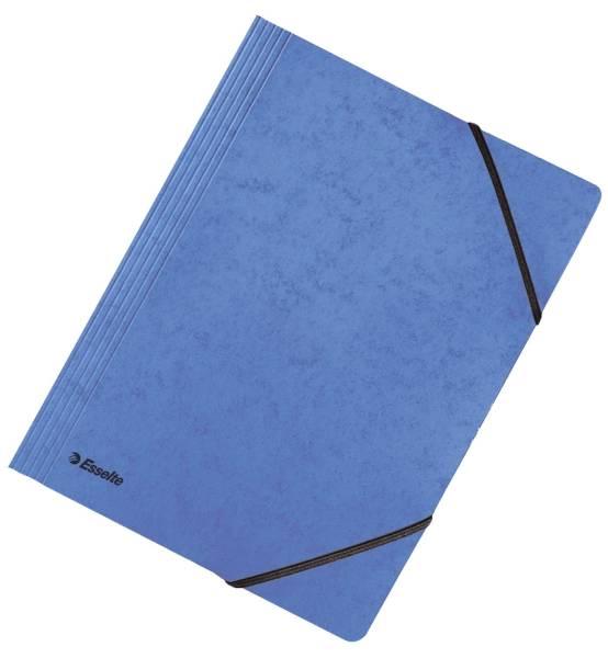 Eckspanner A4, Primärkarton, blau