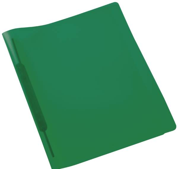 Spiralschnellhefter A4, transluzent, dunkelgrün