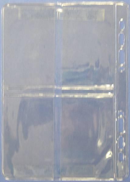 BSB Visitenkarte Ersatzhülle A5 02-0056 4 Stück