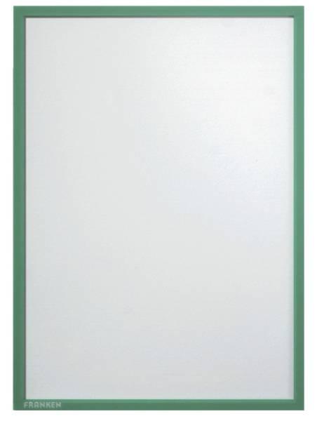 FRANKEN Prospekttasche A4 grün ITSA4M 02 magnetisch