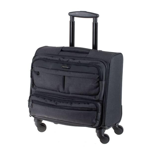 LIGHTPAK Business Trolley Laptop Ronney anthrazit 46144 Overnight 44,5x44x24,5cm