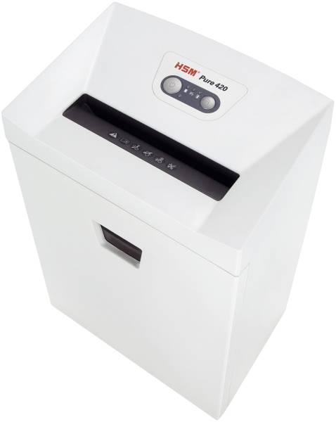 HSM Aktenvernichter Pure 420 weiß 2343111 Part. 4,5x30mm