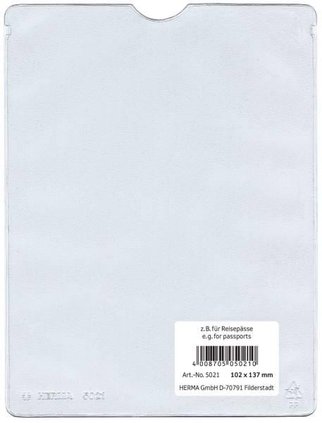 5021 Ausweishüllen 102x137 mm für Reisepässe