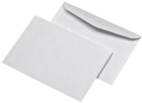 ELEPA Briefhülle B6 gum. 75g weiß 30005428 1000ST lose