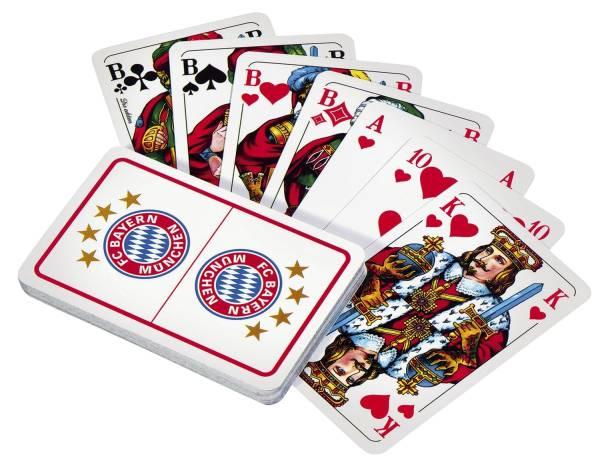 FC Bayern Spielkarten Skat 21683