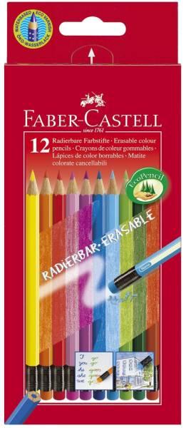 FABER CASTELL Farbstiftetui 12ST 116612 Kartonetui