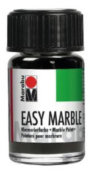 MARABU Marmorierfarbe 15ml silber 13050 039 082 Easy Marble