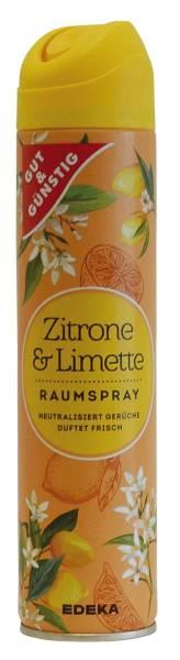 GUT & GÜNSTIG Duftspray 300ml Zitrone&Limette 3589164000