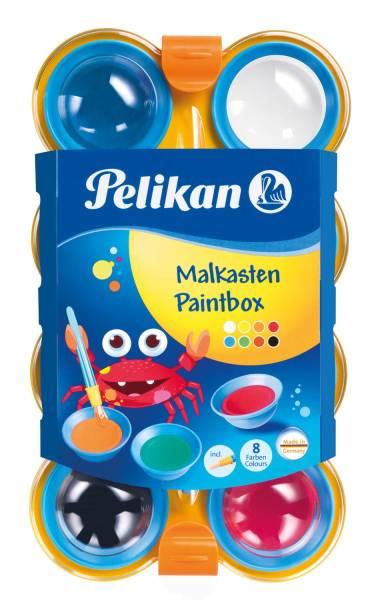 Deckfarbkasten mini friends 755 8, mit 8 Farben + Pinsel®