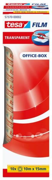 Klebefilm Office Box transparent 10 St , Bandgröße (L x B): 10 m x 15 mm