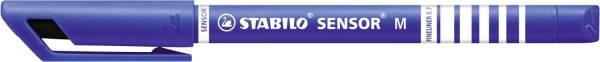 STABILO Feinliner Sensor M blau 187/41