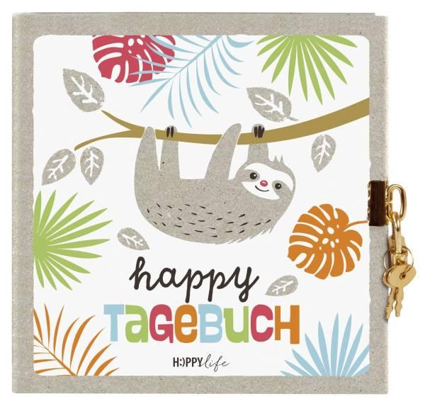 GOLDBUCH Tagebuch Faultier Happylife 44580 16,5x16,5cm