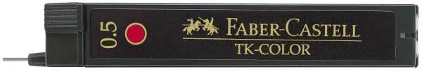 FABER CASTELL Feinmine 9085 0,5mm 12ST rot 128521