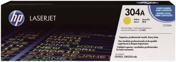 Druckkassetten yellow, 2 800 Seiten, CC532A®