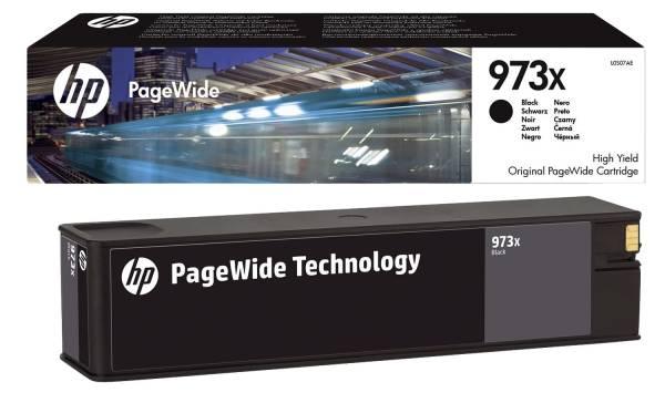 HP Inkjetpatrone Nr.973X schwarz L0S07AE