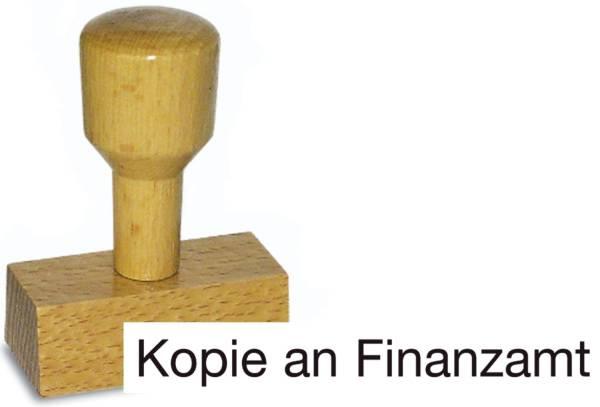 Vorgangsstempel Kopie an Finanzamt