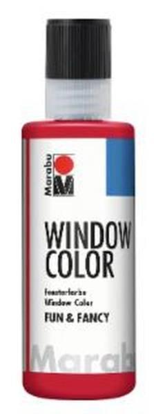 Window Color fun&fancy, Rubinrot 038, 80 ml