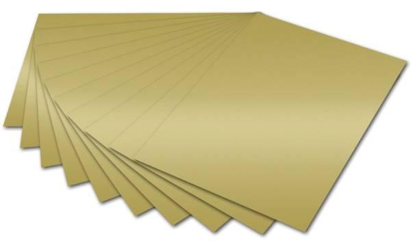 Tonpapier 50 x 70 cm, gold glänzend