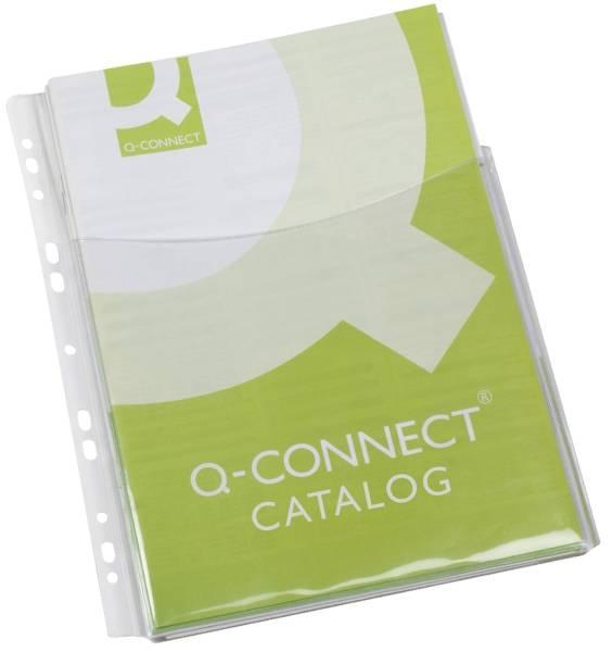 Klarsichthüllen für Kataloge glasklar, 0,18 mm, A4, Folie 3 4 Höhe, 5 Stück