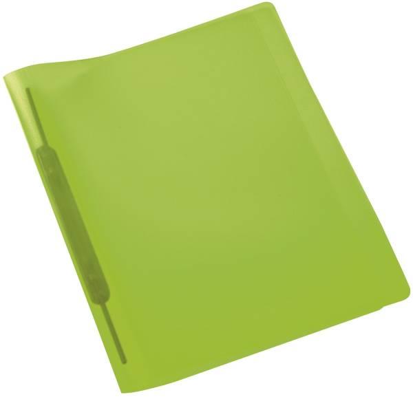 Spiralschnellhefter A4, transluzent, hellgrün