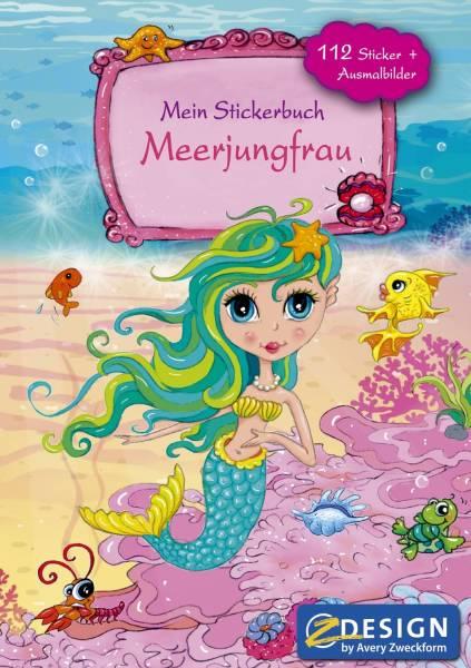 AVERY ZWECKFORM Stickeralbum A5 Meerjungfrau 57796