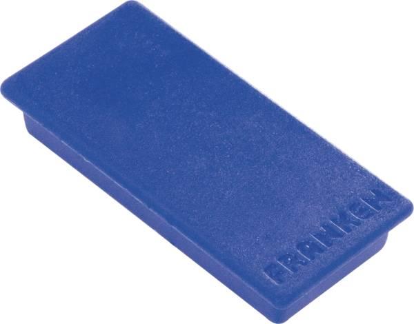 Magnet, 23 x 50 mm, 1000 g, blau