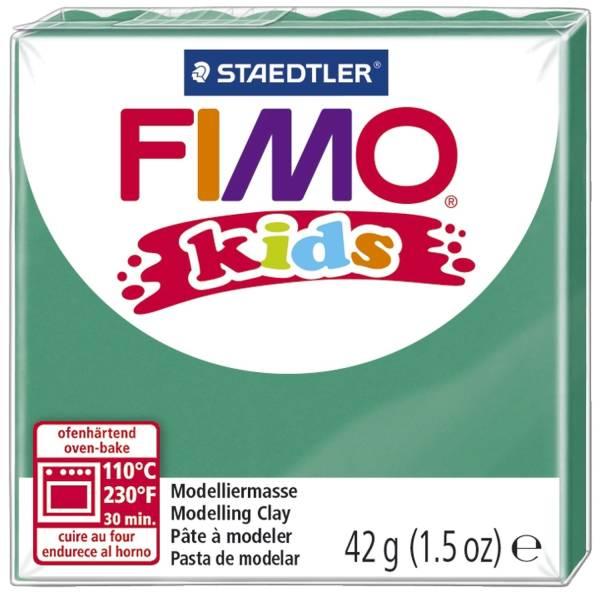 STAEDTLER Modelliermasse Fimo grün 8030-5 Kids 42g