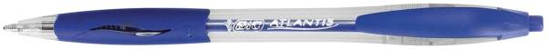 Druckkugelschreiber ATLANTIS, 0,4 mm, blau