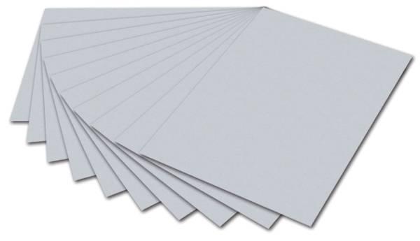 Tonpapier A4, hellgrau