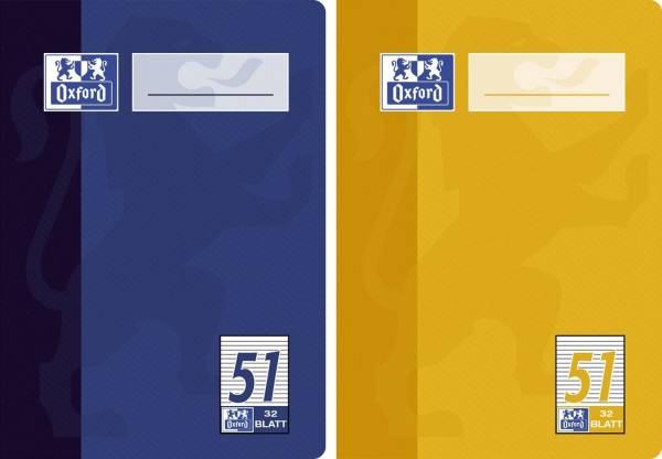 Oktavheft LIN51 A6, 32 Blatt, 90 g qm, liniert