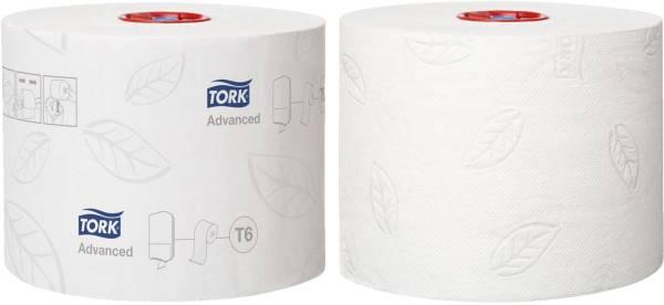Toilettenpapier Midi für T6 System weich, 2 lagig, 27 Rollen á 100 m