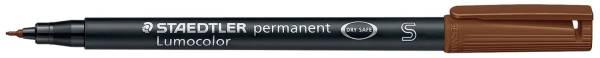 Feinschreiber Universalstift Lumocolor permanent, S, braun®